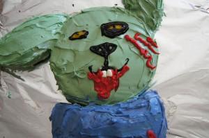 Zombie Bunny Cake!