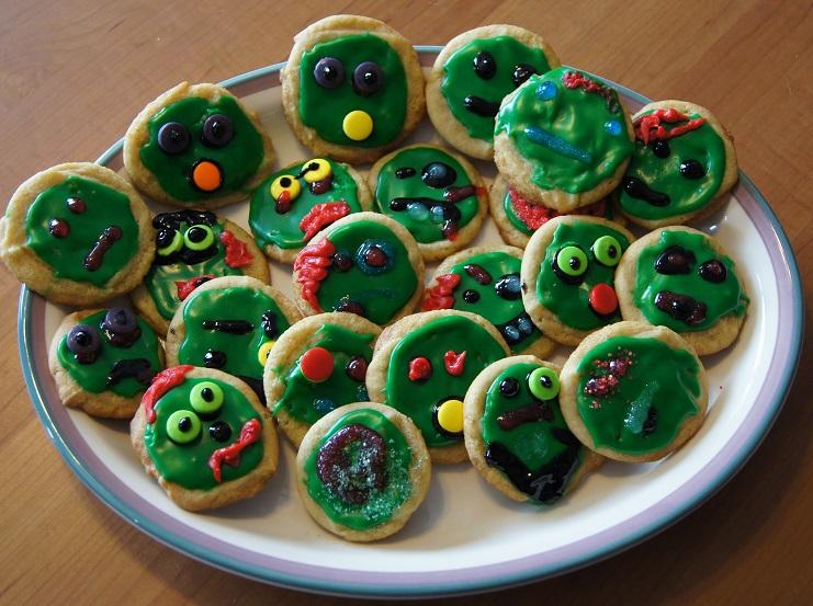 Crafty Zombie Cookies