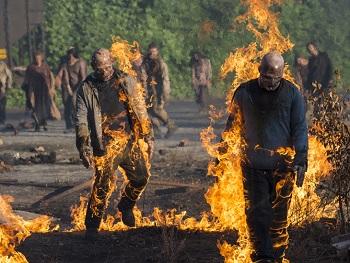 The Walking Dead s05e01, Fire Walkers