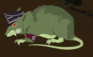 Zombie of the Week, Nazi zombie unusually large rat