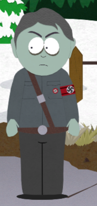 Zombie of the Week, South Park Nazi Zombie