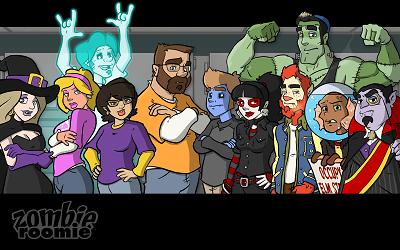 Zombie Roomie Cast