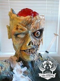 Artisan Cake Company Zombie Cake by Elizabeth Marek.