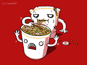 ShirtWoot, Zombie Noodles