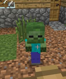 Baby Minecraft Zombie