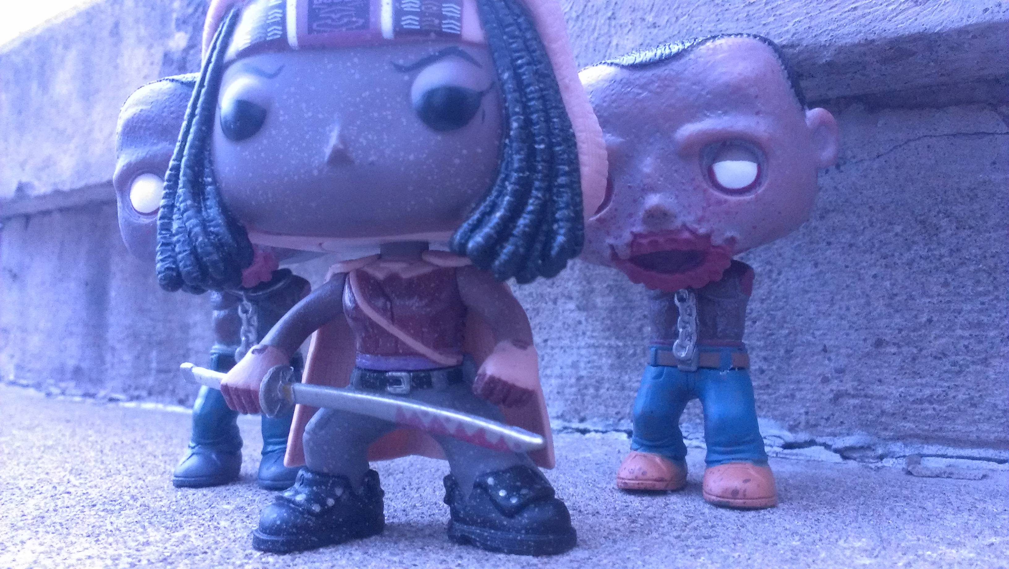 Michonne and Her Pets - 01